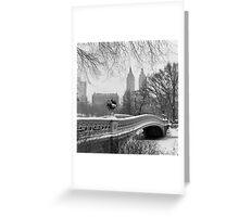 Bow Bridge Daytime Greeting Card
