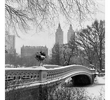 Bow Bridge Daytime Photographic Print