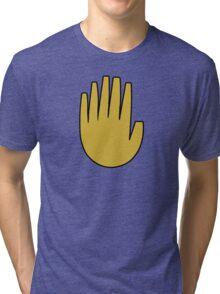 Gravity Falls: The Journal Hand (vector) Tri-blend T-Shirt