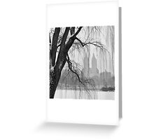 San Remo in Snow Greeting Card