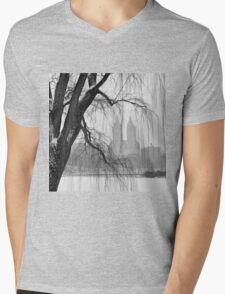 San Remo in Snow Mens V-Neck T-Shirt