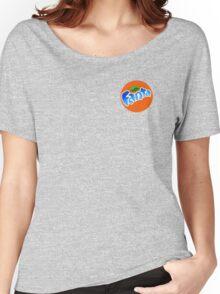 cool blue fanta logo Women's Relaxed Fit T-Shirt