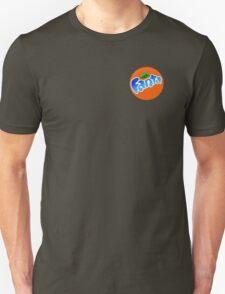 cool blue fanta logo Unisex T-Shirt