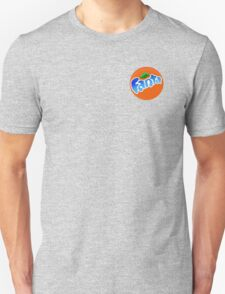 cool blue fanta logo Unisex T-Shirt