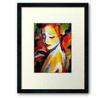 """""""Pensiveness"""" Framed Print"""