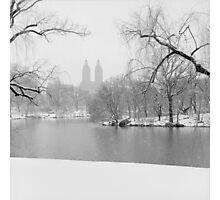 Last Snow Photographic Print