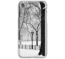 Central Park Walker iPhone Case/Skin
