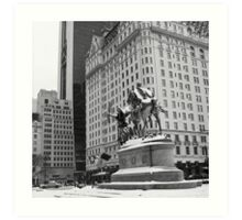 59th Street Penn Plaza Art Print