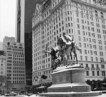 59th Street Penn Plaza by Randy  LeMoine