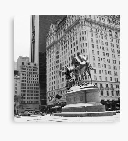 59th Street Penn Plaza Canvas Print