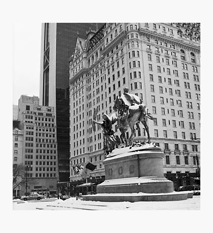 59th Street Penn Plaza Photographic Print