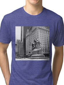 59th Street Penn Plaza Tri-blend T-Shirt