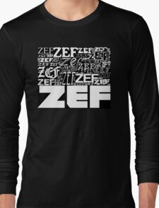 ZEFZEFZEF BLACK Long Sleeve T-Shirt