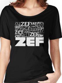 ZEFZEFZEF BLACK Women's Relaxed Fit T-Shirt