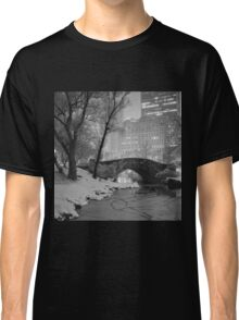 Cracked Lake Under Gapstow Bridge Classic T-Shirt