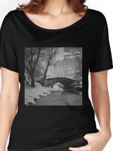 Cracked Lake Under Gapstow Bridge Women's Relaxed Fit T-Shirt