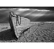 Fishing boat graveyard Photographic Print
