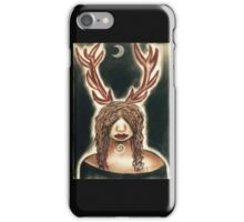 Stag Woman iPhone Case/Skin