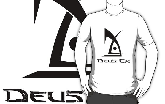 Deus Ex logo black by Darth-Biomech