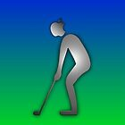 GOLF iphone golfer &quot;Appleman&quot; by ALIANATOR