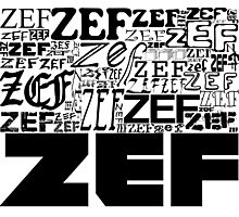 ZEFZEFZEF Photographic Print