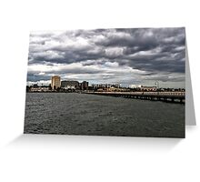 St. Kilda Pier Greeting Card