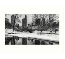 Winter Fun at the Gapstow Art Print