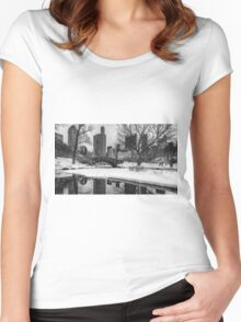 Winter Fun at the Gapstow Women's Fitted Scoop T-Shirt