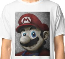 Portrait of an Italian plumber in color Classic T-Shirt