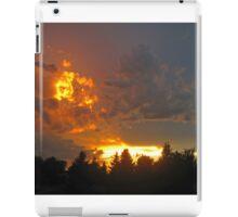 Northern Alberta Sunset iPad Case/Skin