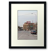 The Walker Framed Print