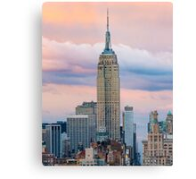 Empire State Cotton Candy Metal Print
