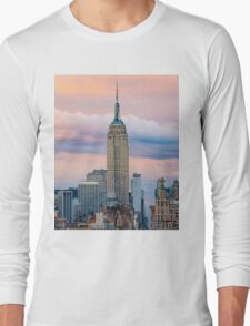 Empire State Cotton Candy Long Sleeve T-Shirt