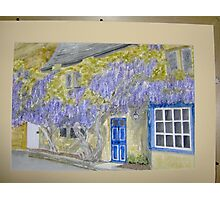 wisteria cottage in Broadway Photographic Print