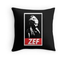 Zef Queen Throw Pillow