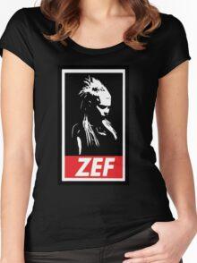 Zef Queen Women's Fitted Scoop T-Shirt