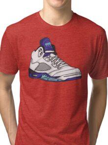 Shoes Grapes (Kicks) Tri-blend T-Shirt