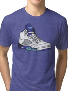 Shoes Grapes (Kicks) Tri-blend T-Shirt