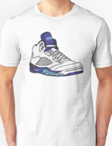 Shoes Grapes (Kicks) Unisex T-Shirt