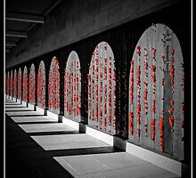 Australian War Memorial, Wall of Remembrance by Tony Steinberg