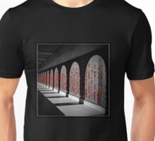 Australian War Memorial, Wall of Remembrance Unisex T-Shirt