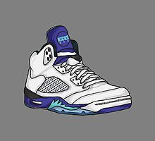 Shoes Grapes (Kicks) by Pancho The Macho