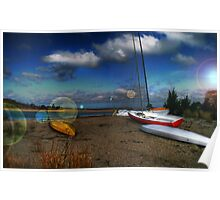 Lets go Sailing at Towd Point Poster