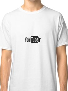 Youtuber Classic T-Shirt