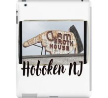 Hoboken NJ iPad Case/Skin