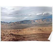 Earth View - Desert Landscape Poster