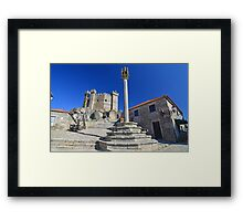Castle in Portugal Framed Print