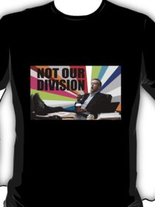 Sherlock - Not our division T-Shirt