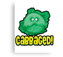 Cabbaged Canvas Print