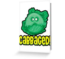 Cabbaged Greeting Card